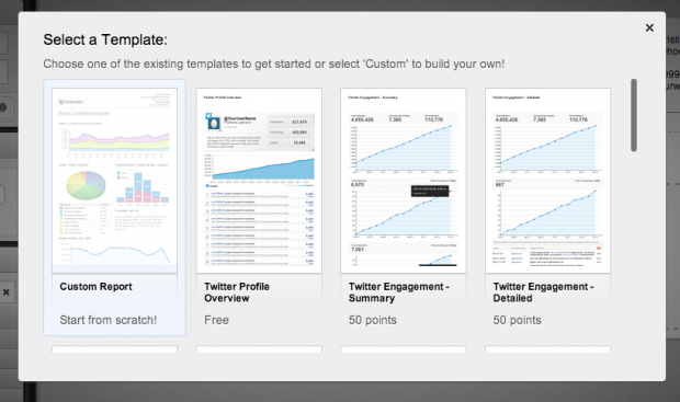 Customize your social media reporting with Hootsuite's custom report