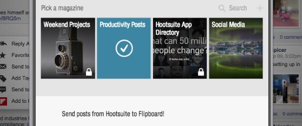 Hootsuite Flipboard App