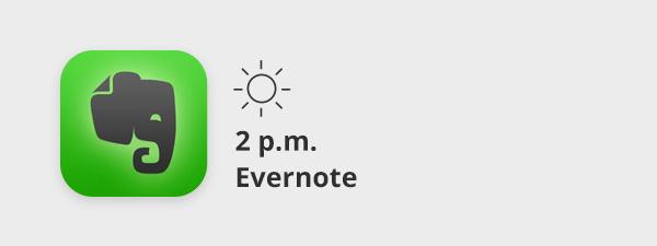 Evernote-Card