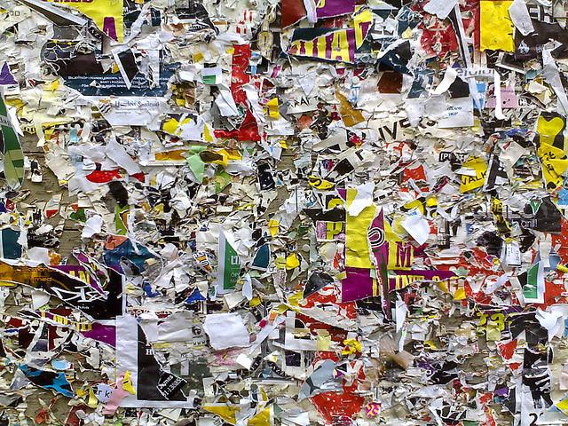 clutter content design