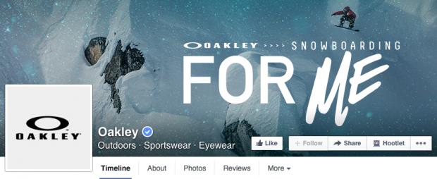 Oakley Facebook cover photo
