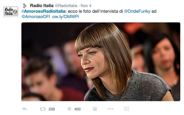 Radio Italia Tweet