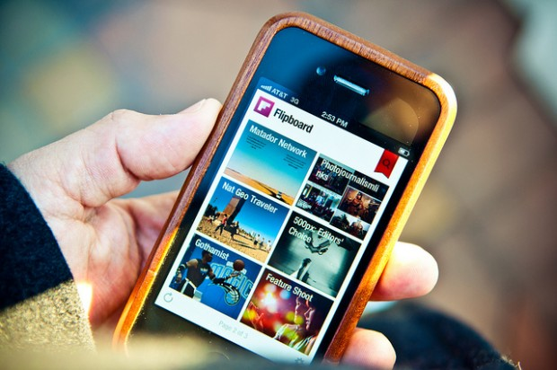 Flipboard will feature Promoted Items in users' magazines. Image by Jorge Quineros via Flickr
