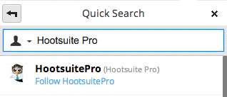 HootTip Quick Search Account