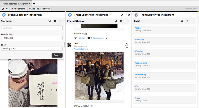 Trendspottr for Instagram - Trend Discovery