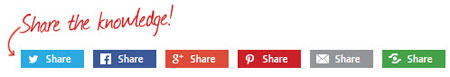 social media integration on your website should include social share buttons