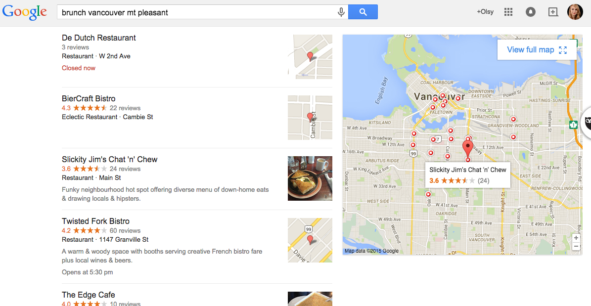 how to get facebook reviews to appear on google