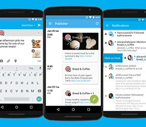 Hootsuite Android app