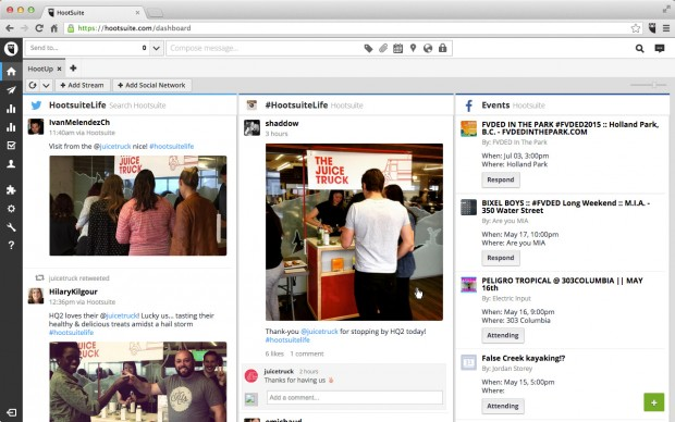 event marketing social media