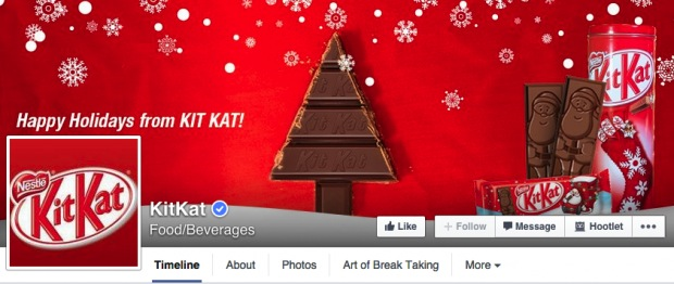 kitkat holiday facebook cover