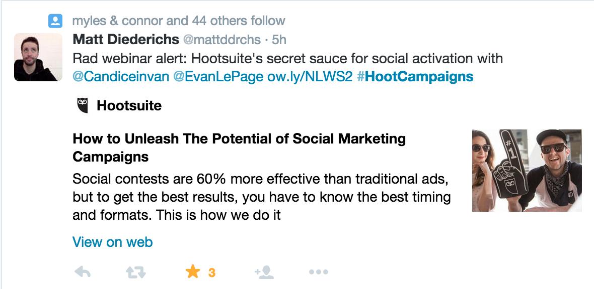 social marketing campaigns
