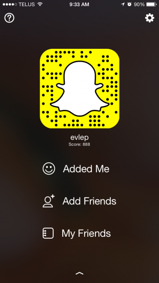 Snapchat Features - Snapcode