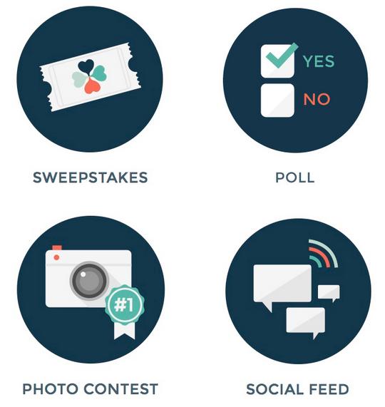 Popular social media campaign types