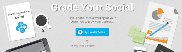 Test your Twitter Marketing strategy with Hotosuite Social Grader