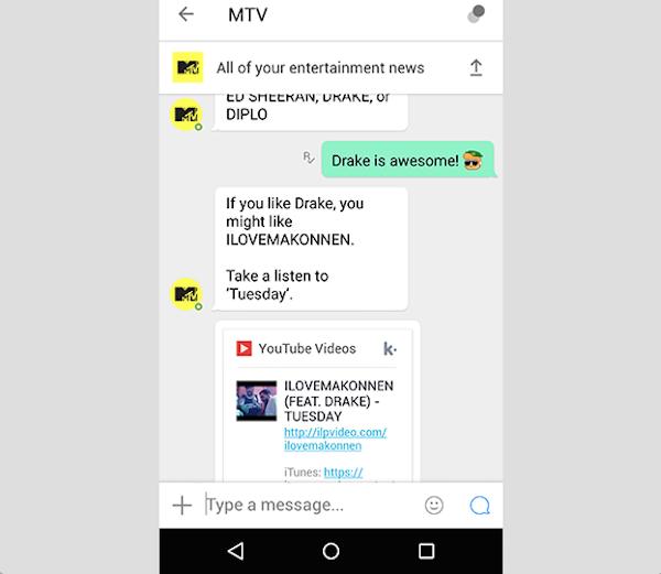 MTV Kik
