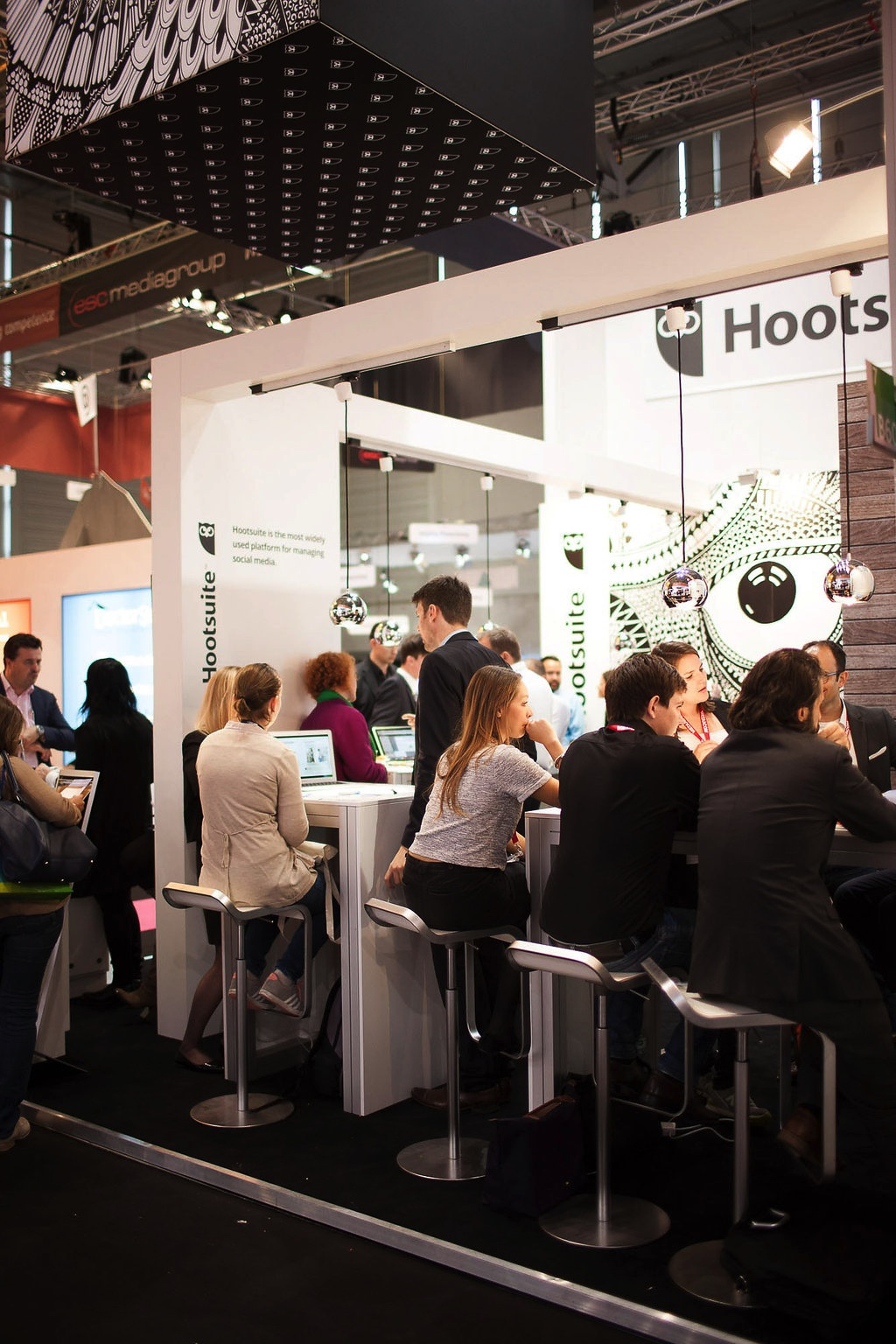 hootsuite booth