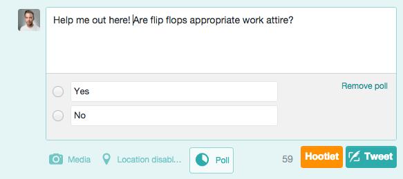 Settle an Argument Twitter Poll