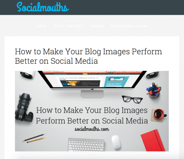 Socialmouths - How to Make Your Blog Images Perform Better on Social Media