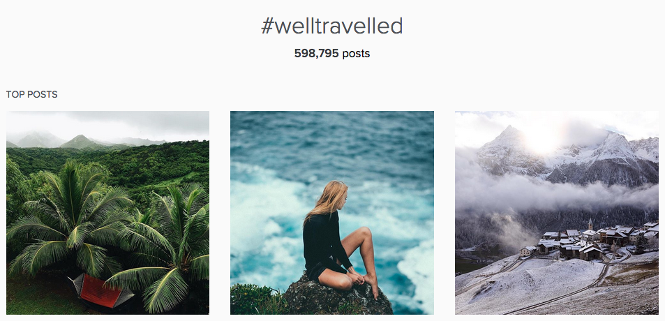 herschel supply #welltravelled hashtag on instagram