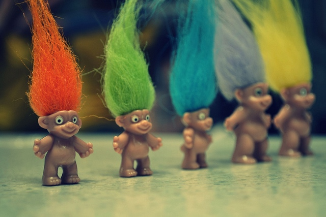 Social Media Trolls - Image via Denise Sebastian under CC BY-ND 2.0