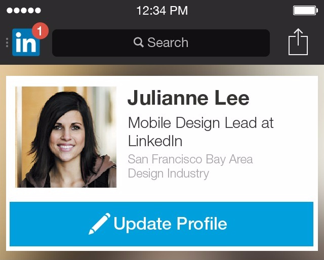how to add photo to linkedin profile