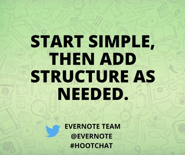 Hootchat Evernote Quote No. 2