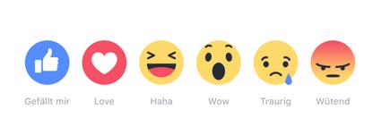 Facebook-Reactions-DE