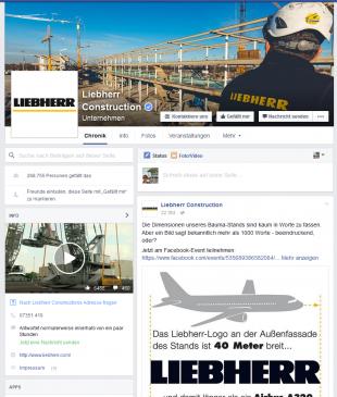 Liebherr Facebook