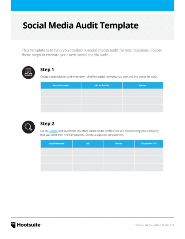 Social Media Templates To Save You Hours Of Work - Monthly social media calendar template