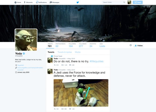 What it Would Look Like if Yoda Used Twitter | Hootsuite Blog