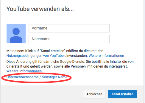 YouTube Account Deutsch3