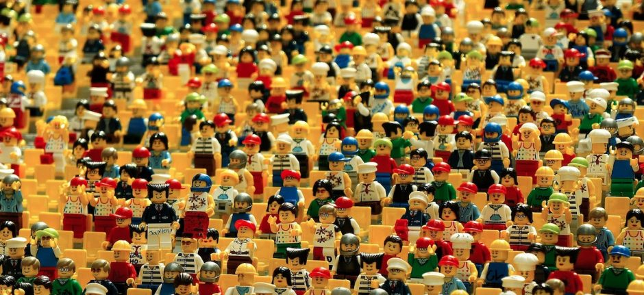 Facebook Demographics lego people