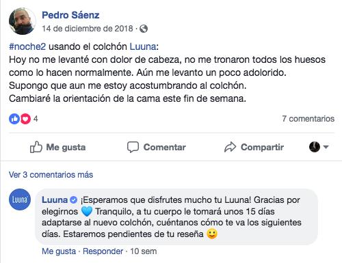 Campaña social selling Luuna