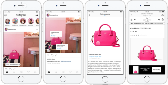 ES: Integración nativa de ventas en Instagram