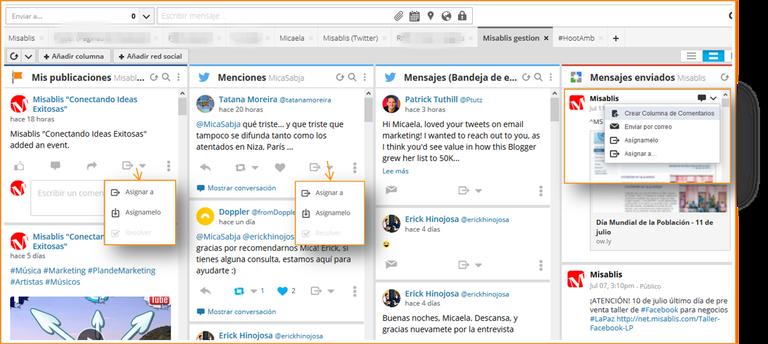 Gestiona tus equipos de trabajo utilizando las herramientas de Hootsuite pro