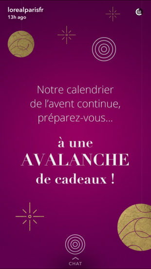 Snapchat - Campagnes Marketing pour Noël
