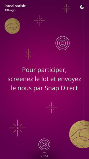 Snapchat_Campagnes Marketing pour Noël