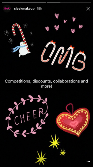 Instagram Stories - Campagnes Marketing pour Noël