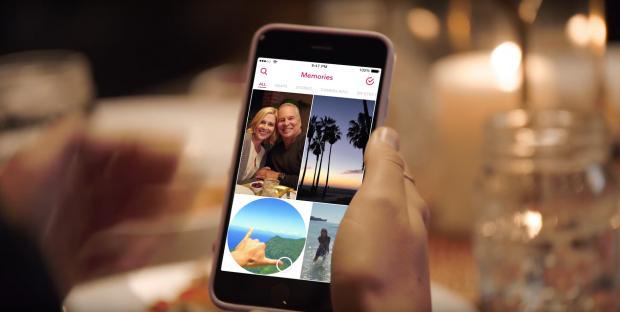 Snapchat Memories fuer Unternehmen
