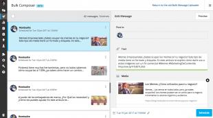 son las publicaciones que se realizan en Hootsuite que nos ha dado más tiempo, y más publicaciones