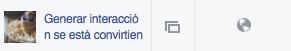 Contenido nativo en Facebook
