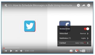 Publica más mensajes con Hootsuite y el programador en bulk