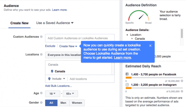 How To Advertise On Facebook The Complete Guide - Facebook ad template library