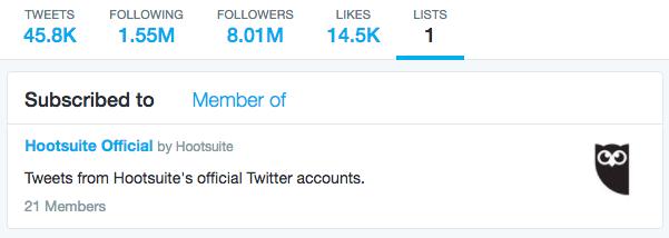 Genera plática social al optimizar tu cuenta de twitter usando listas
