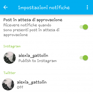 programmare i post di instagram
