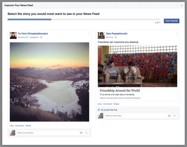 Facebook Falschmeldung
