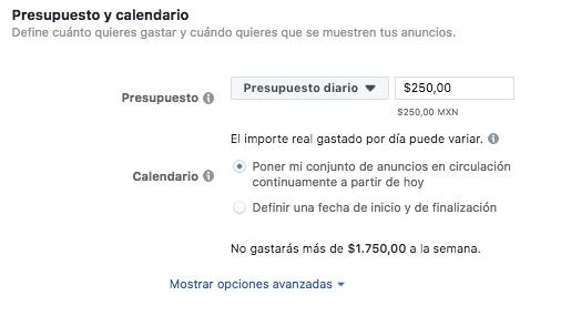 ES: Publicidad en Facebook - Power Editor CINCO