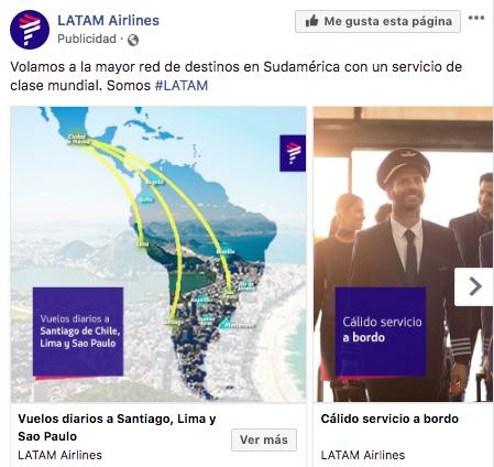 ES: Publicidad en Facebook - Facebook ads con galeria