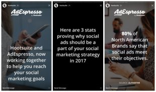 How to Use Instagram Stories: The Complete Guide for Business | Hootsuite Blog ES: Crea ads sociales en las historias de Instagram con Hootsuite y AdEspresso