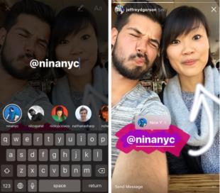 How to Use Instagram Stories: The Complete Guide for Business | Hootsuite Blog ES: Utiliza las historias de Instagram para incluir tus #'s y @ menciones